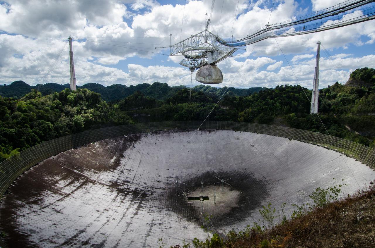 Dags att säga hejdå till Arecibo-observatoriet