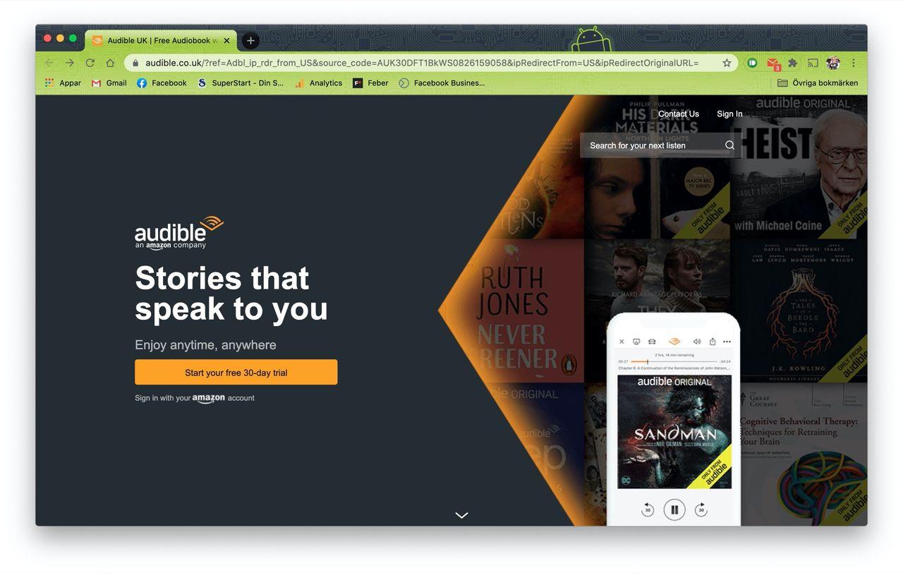 Audible ändrar sin returpolicy efter protester från författare