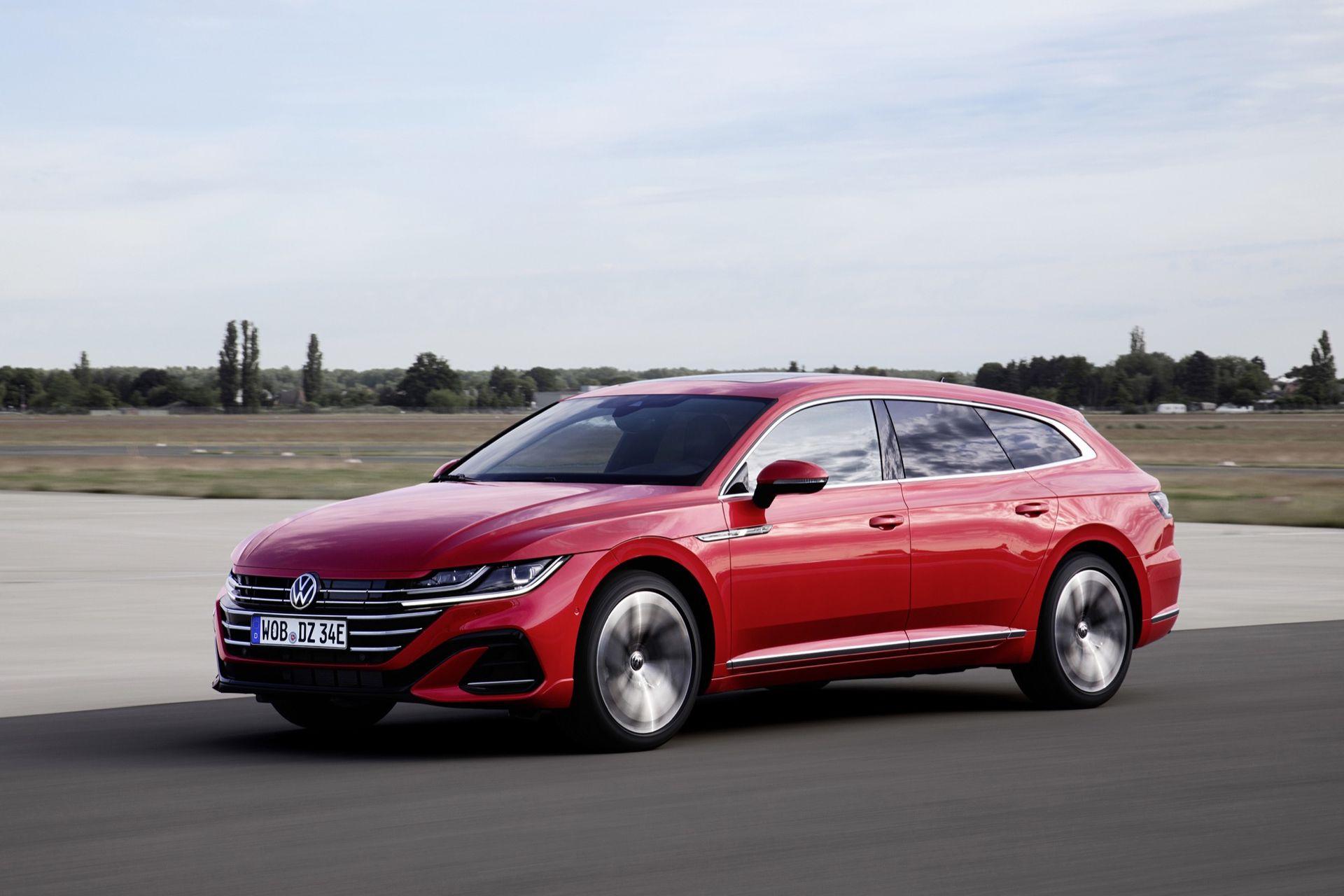 Nu börjar Volkswagen sälja nya Arteon som laddhybrid