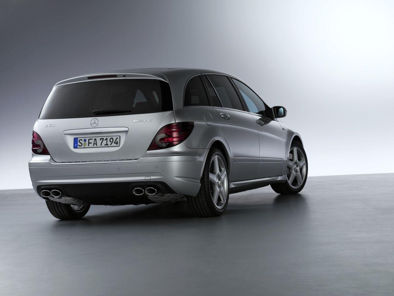Mercedes R-Klass återvänder med eldrift?
