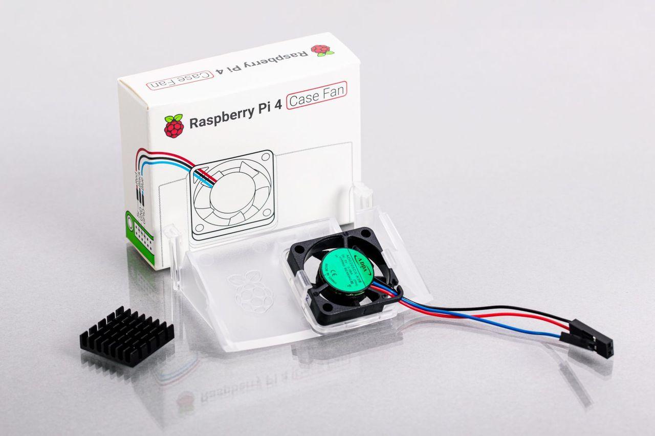 Raspberry Pi släpper fläkt till Raspberry Pi 4