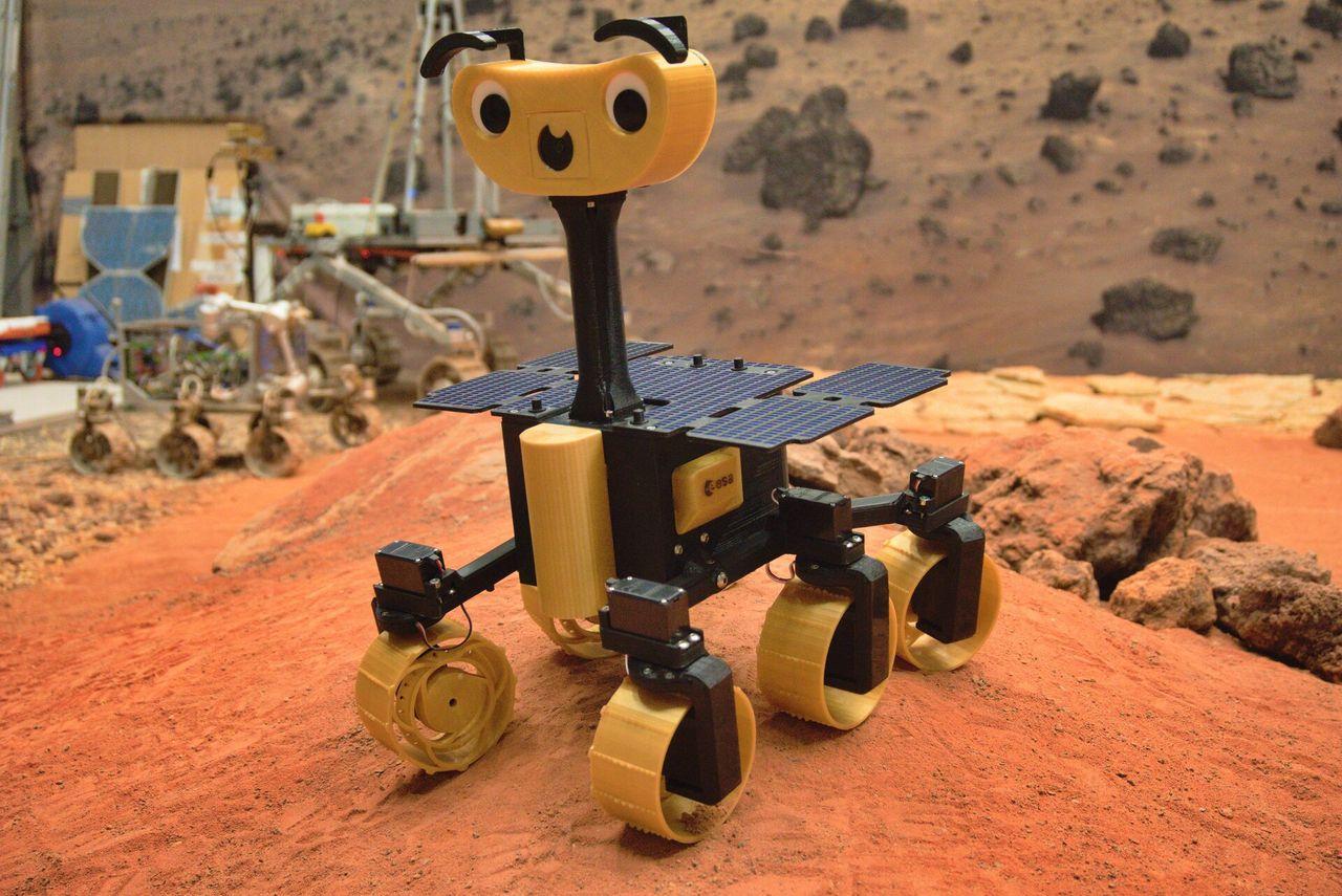 ESA presenterar rovern ExoMy