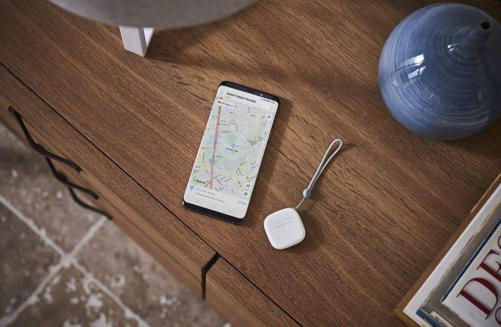 Samsung ryktas utveckla spårbrickor