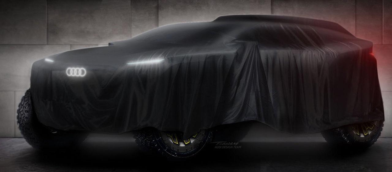 Audi ska tävla med i Dakar 2022 med elbil