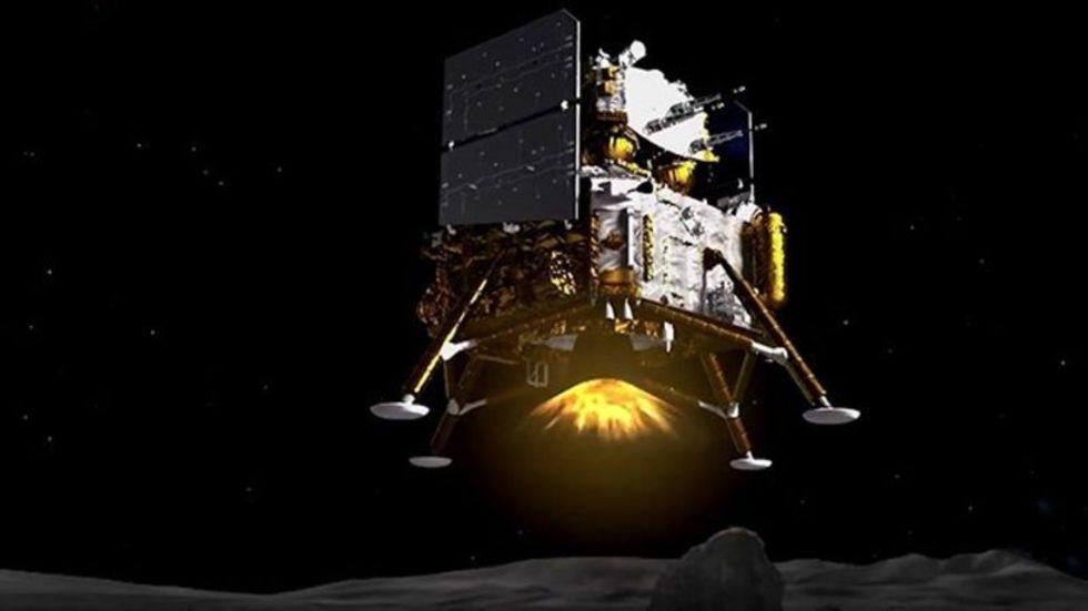 Kina har landat på månen igen