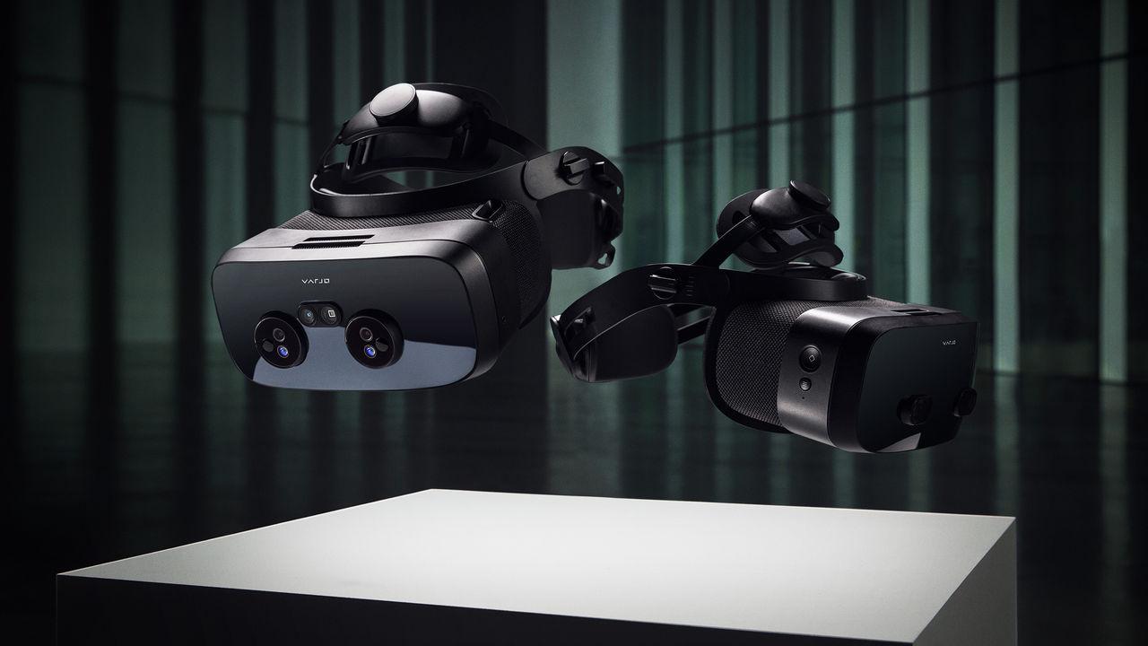 Finska Varjo visar upp nya VR- och XR-headset