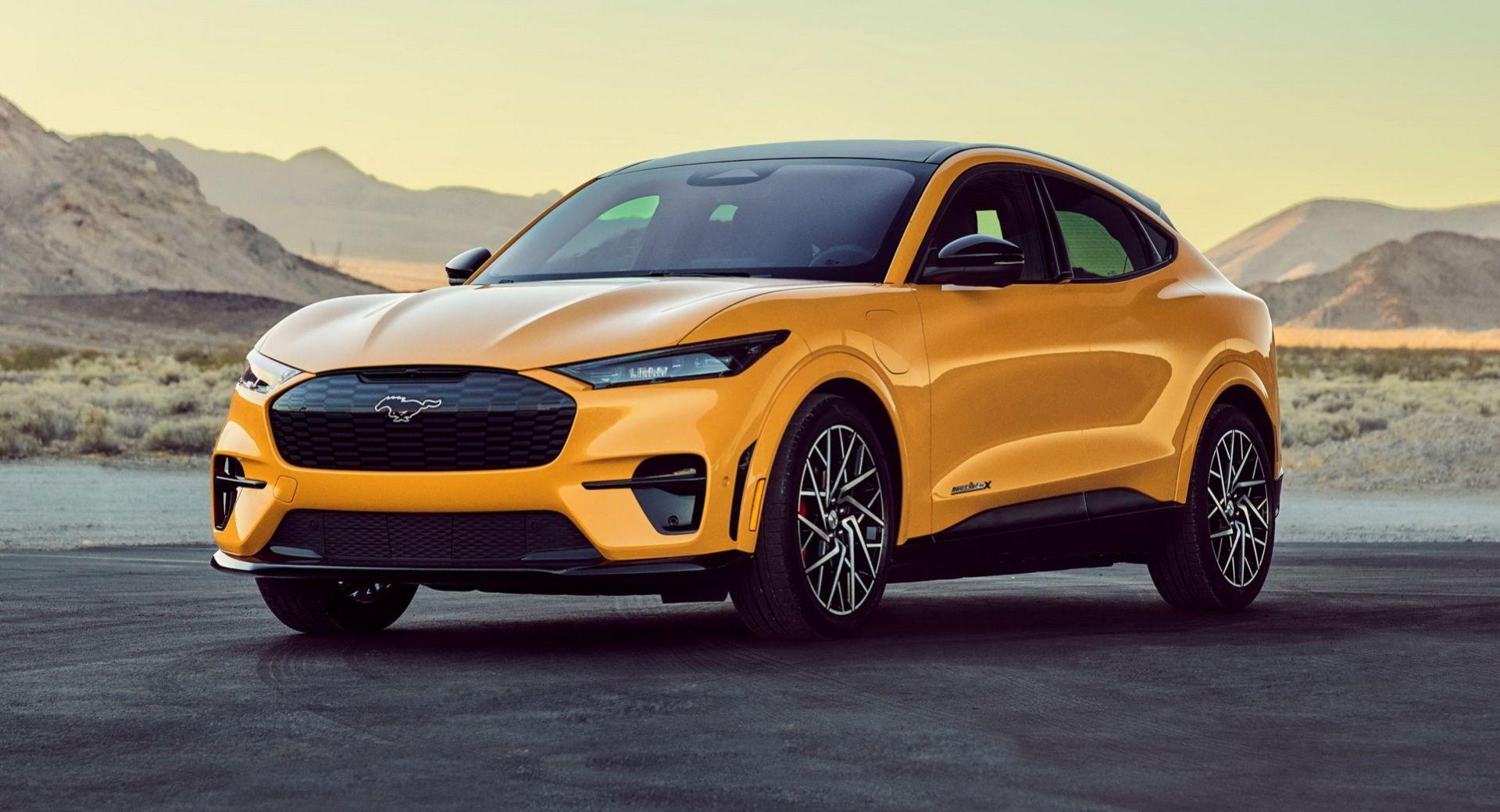 Ford visar prestandaversion av Mustang Mach-E