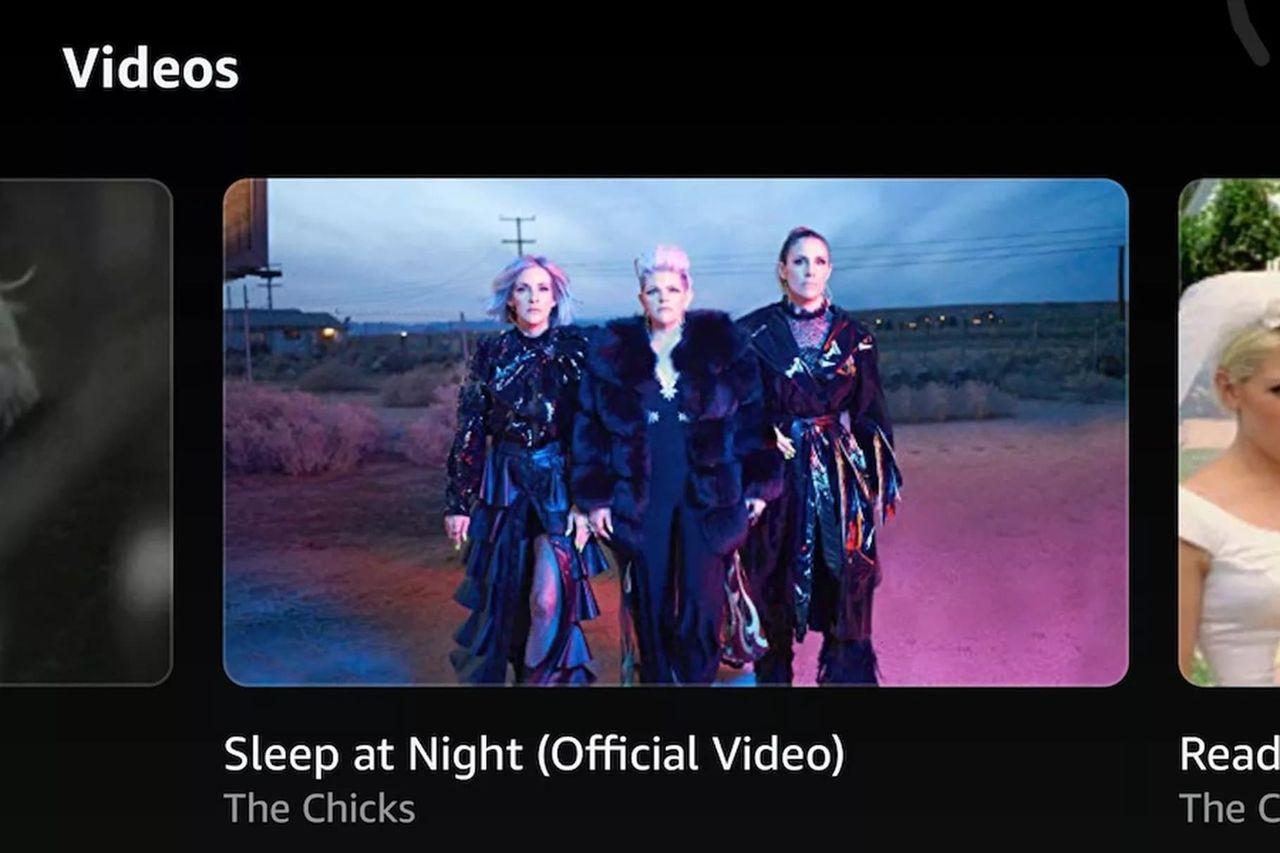 Amazon Music Unlimited börjar visa musikvideos