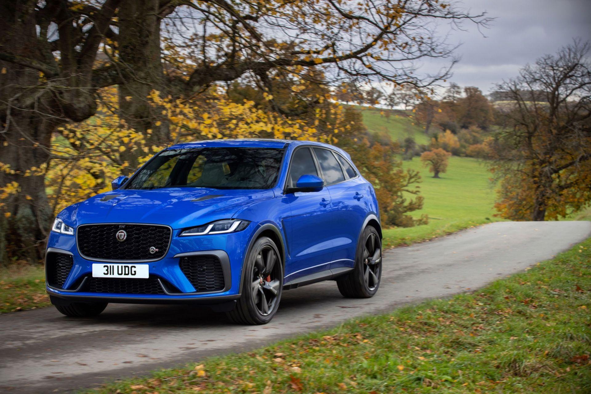 Jaguar uppdaterar F-Pace SVR