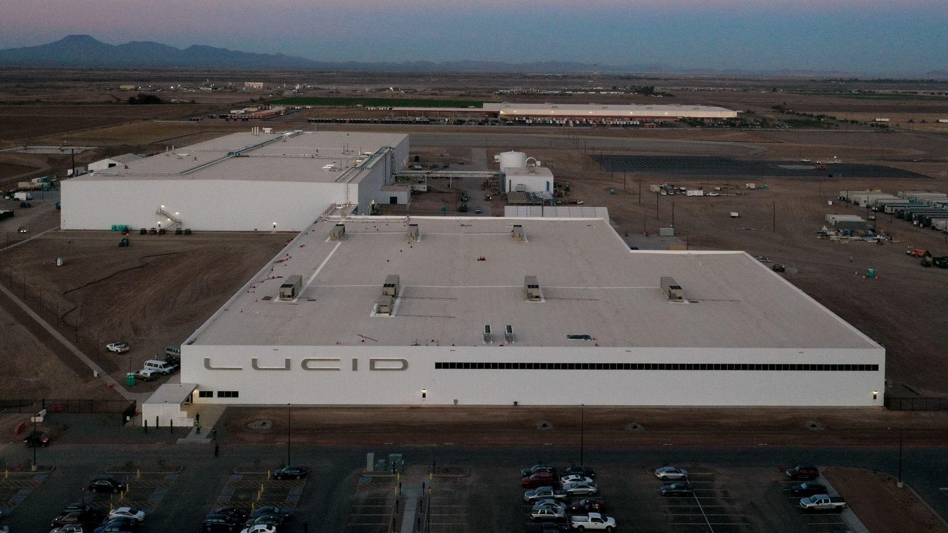 Lucid Motors fabrik i Arizona är snart färdigbyggd