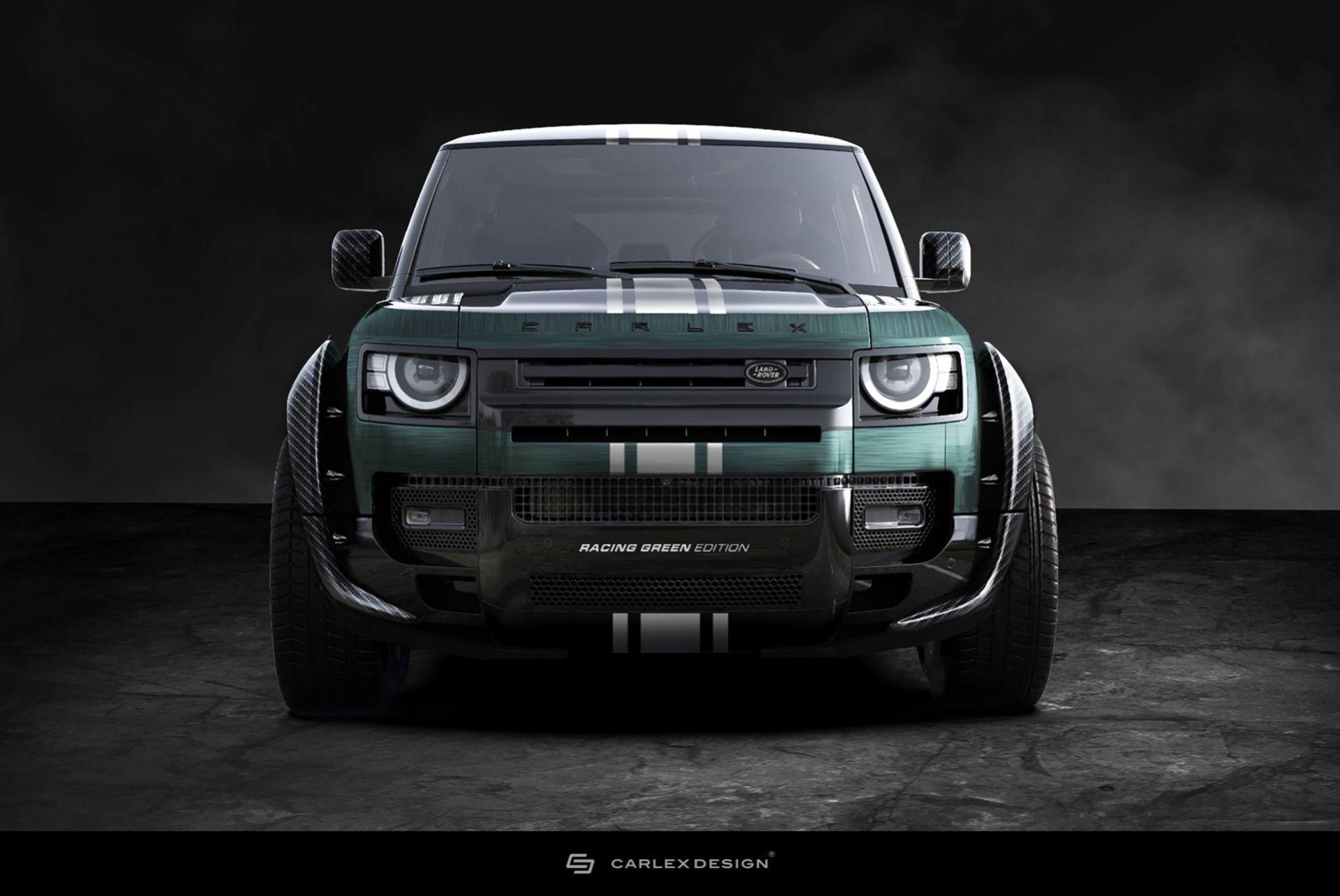 Carlex biffar till nya Land Rover Defender