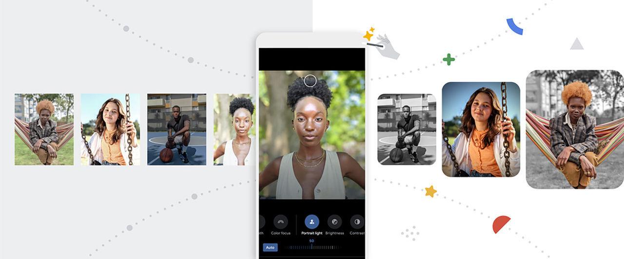 Google Photos uppdateras med växlande bakgrundsbilder