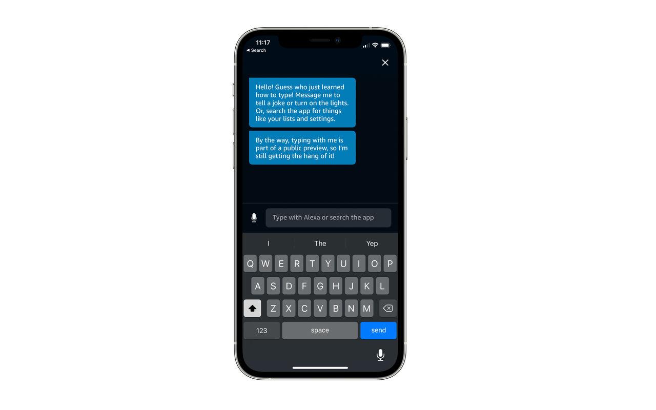 Nu går det att text-chatta med Alexa