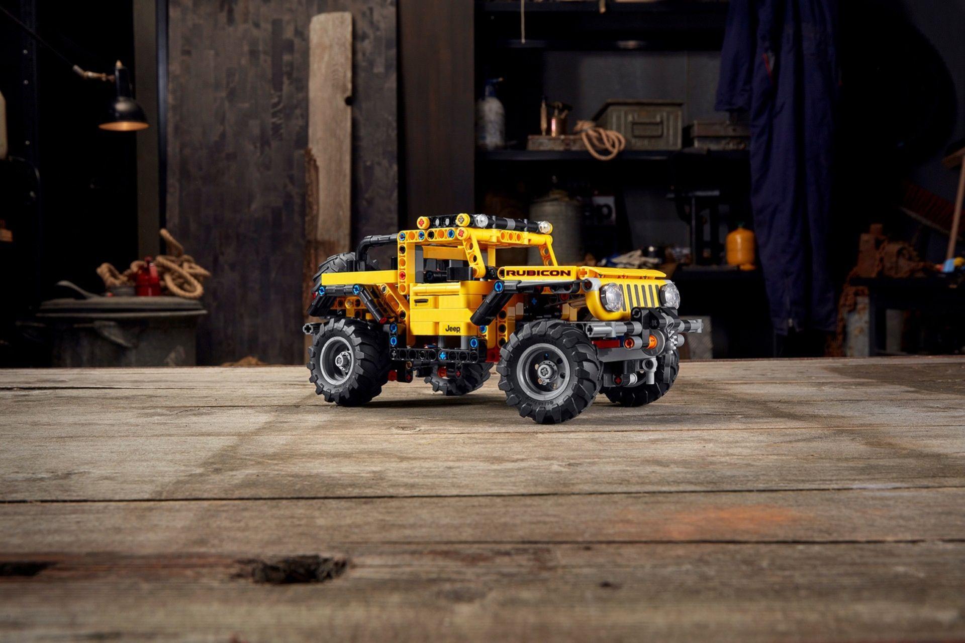 Nya Jeep Wrangler som Lego Technic