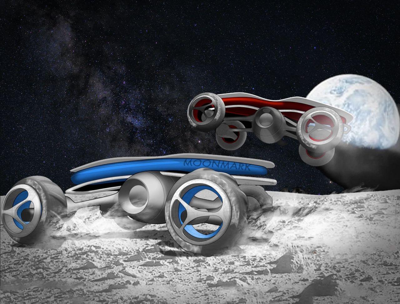 Företag siktar på att tävla med radiostyrda bilar på månen