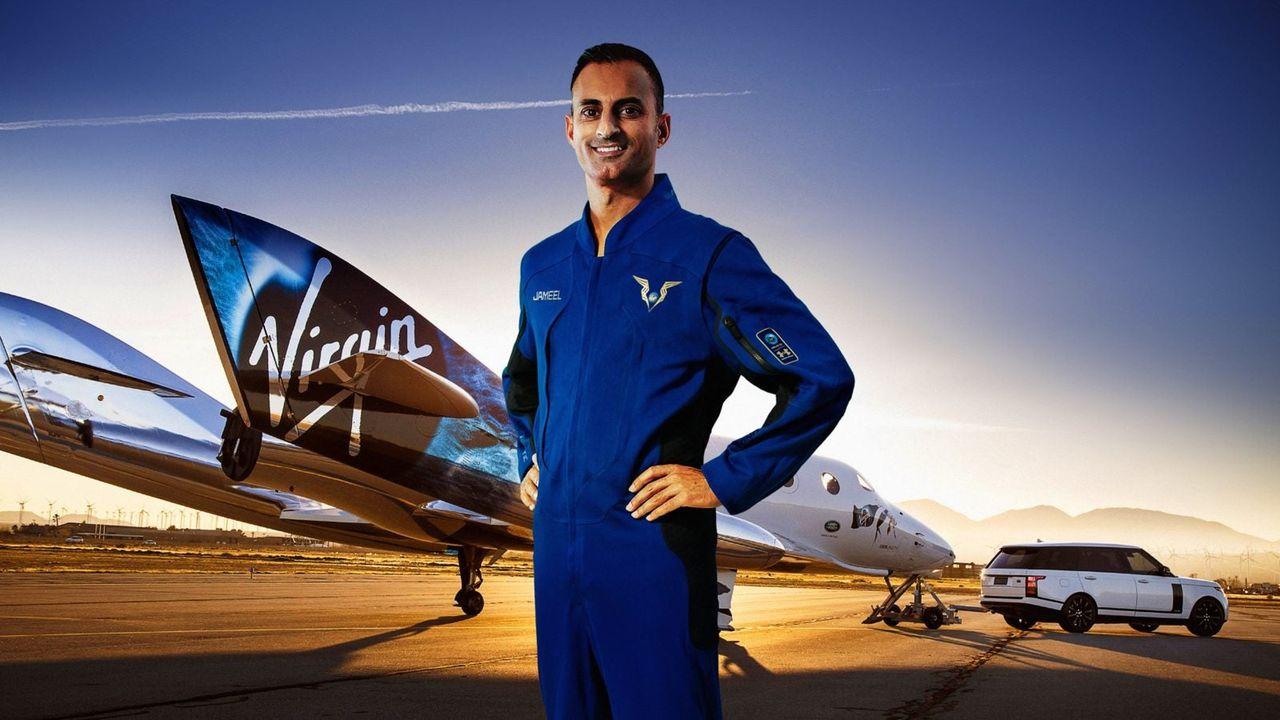 Virgin Galactic visar upp dräkterna som deras piloter ska ha