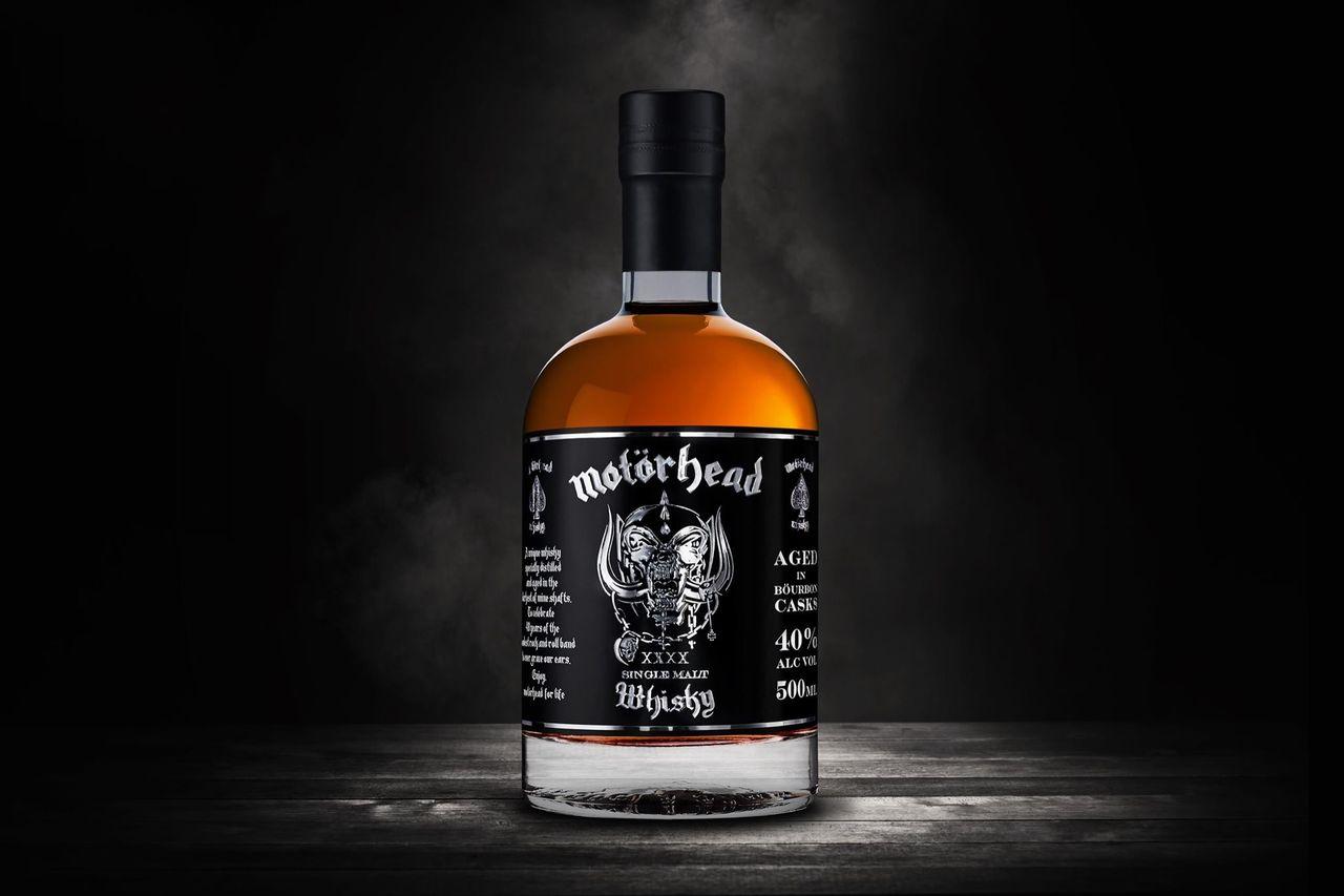 Sluttampen för Motörheads Single Malt Whisky