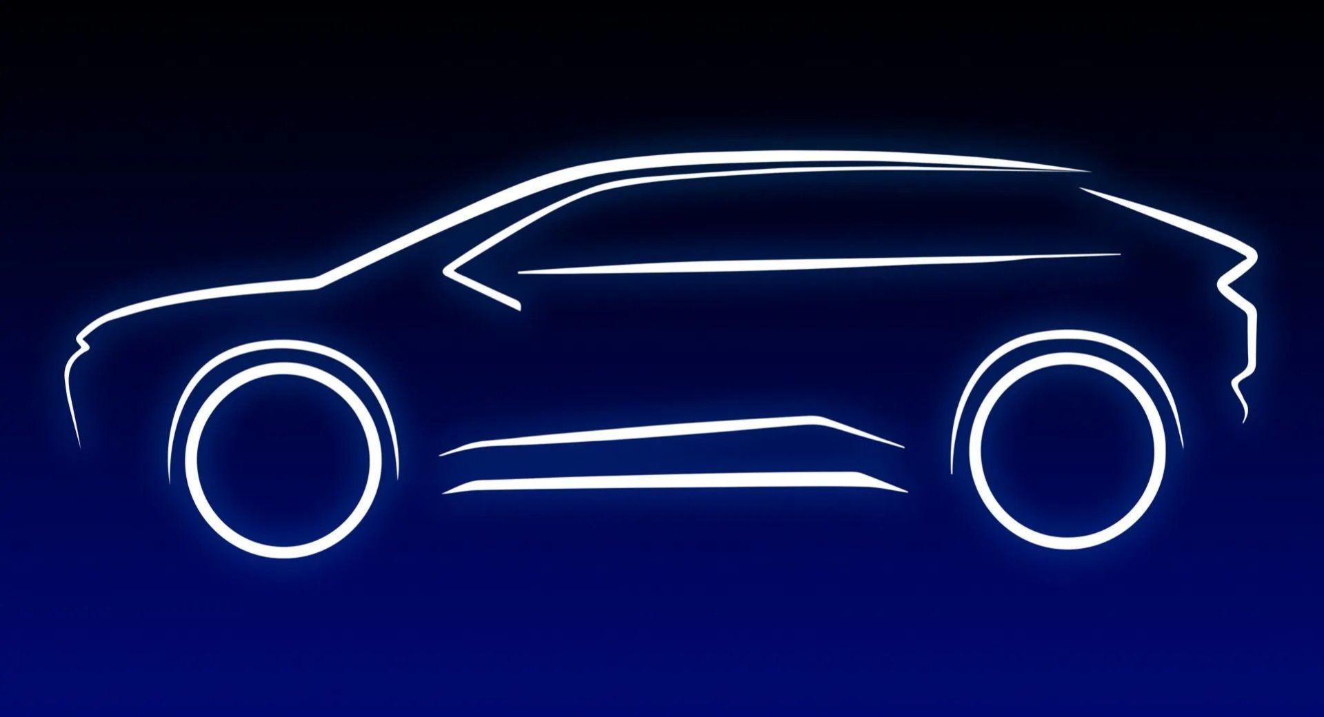 Toyota förhandsvisar sin första helt eldrivna bil