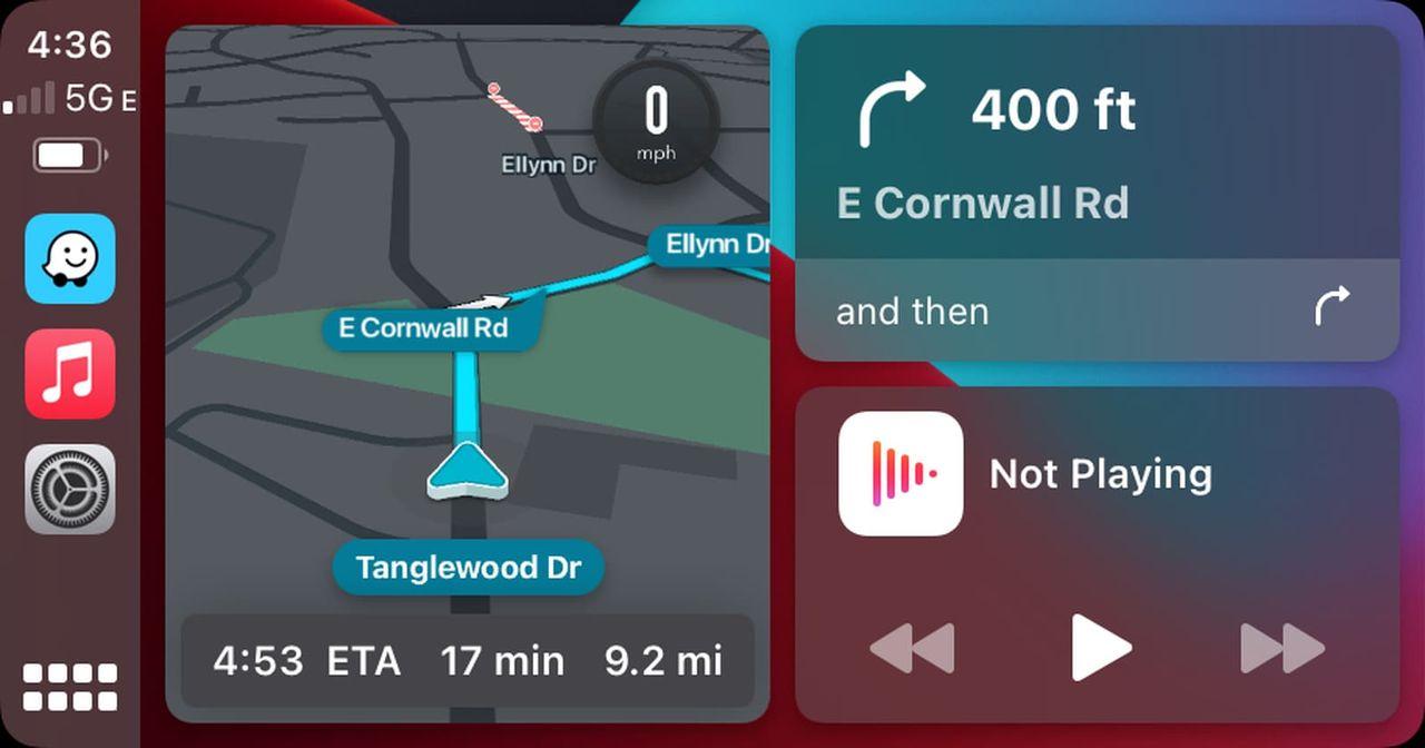 Nu är Waze fullt integrerat i CarPlay