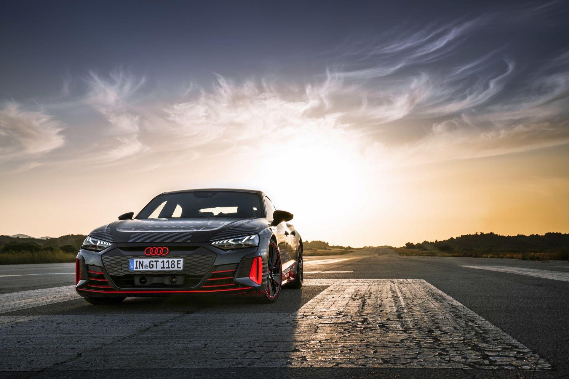 Nu kan du förhandsboka Audi e-tron GT