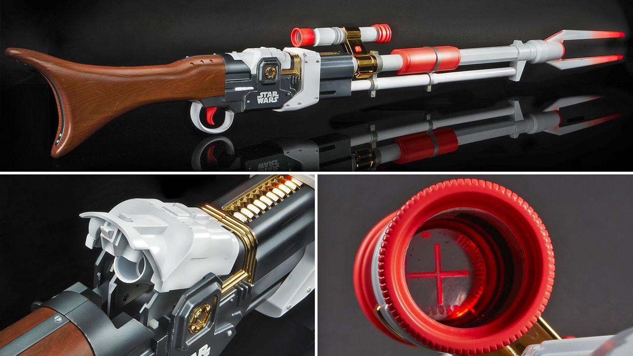Hasbro visar upp Mandalorian-inspirerat Nerf-gevär