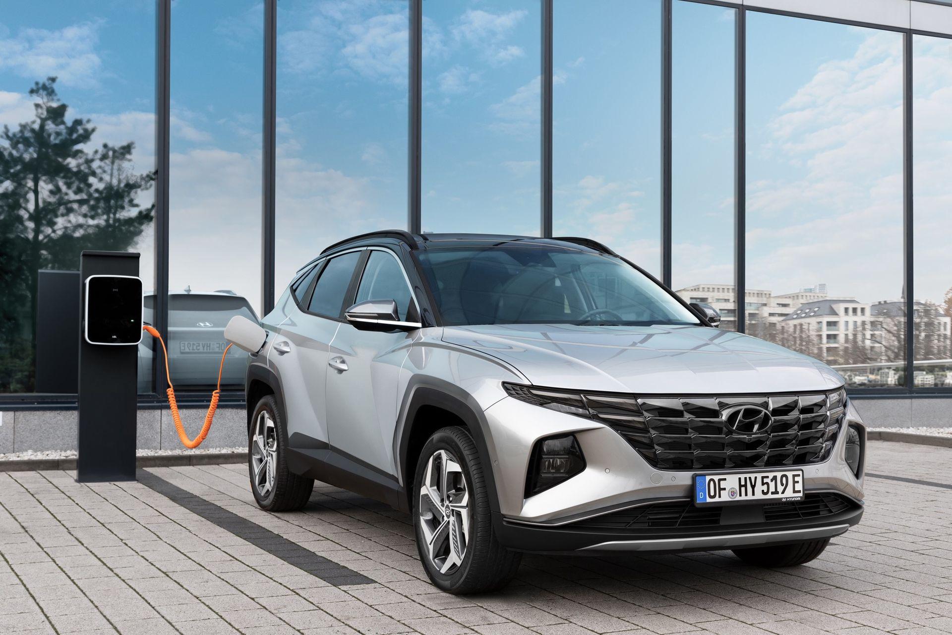 Hyundai berättar mer om Tucson som laddhybrid