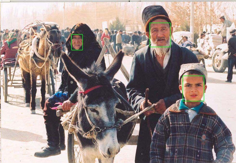 Huaweis ansiktsigenkänning kan känna igen uigurer