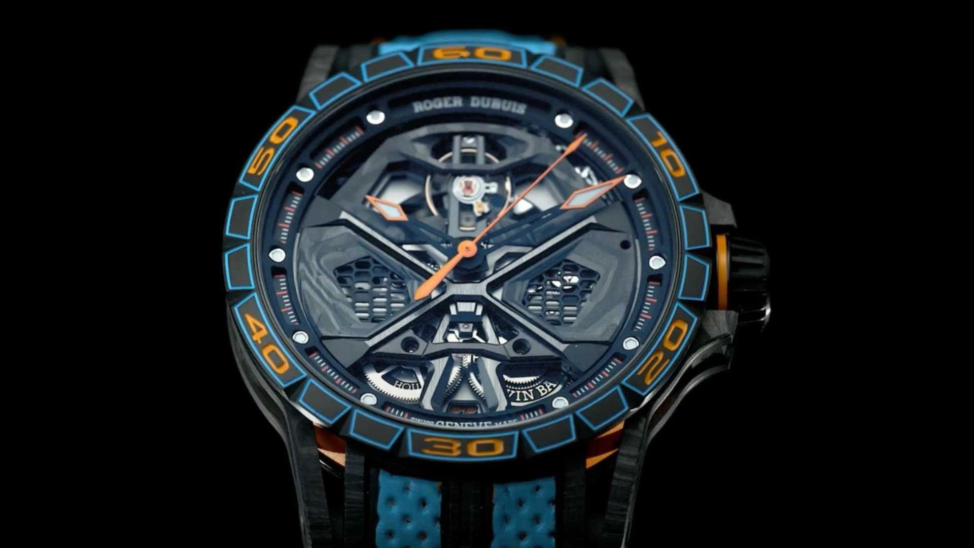 Ny Lamborghini-klocka från Roger Dubuis