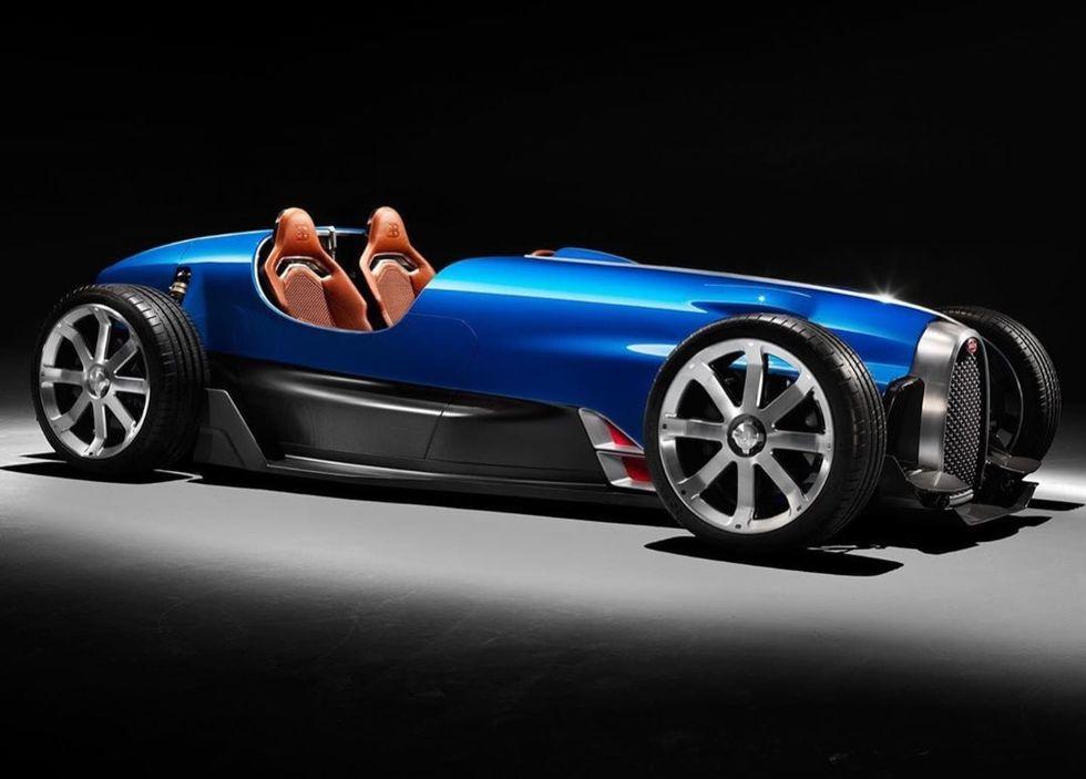 Bugatti och Uedelhoven Studios har återskapat Type 35