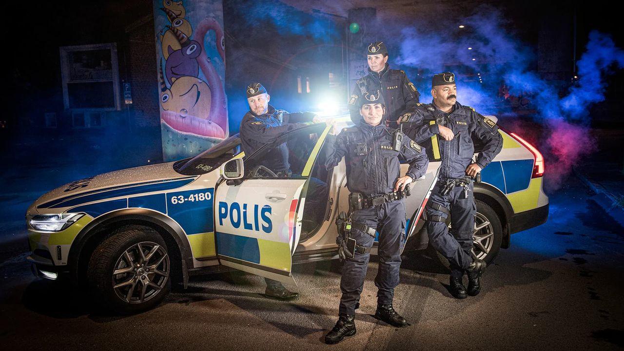 Polisen plockar bort alla avsnitt i sin reality-serie