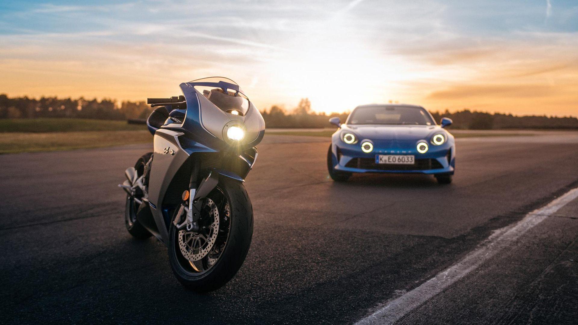 MV Agusta släpper motorcykel inspirerad av nya Alpine A110