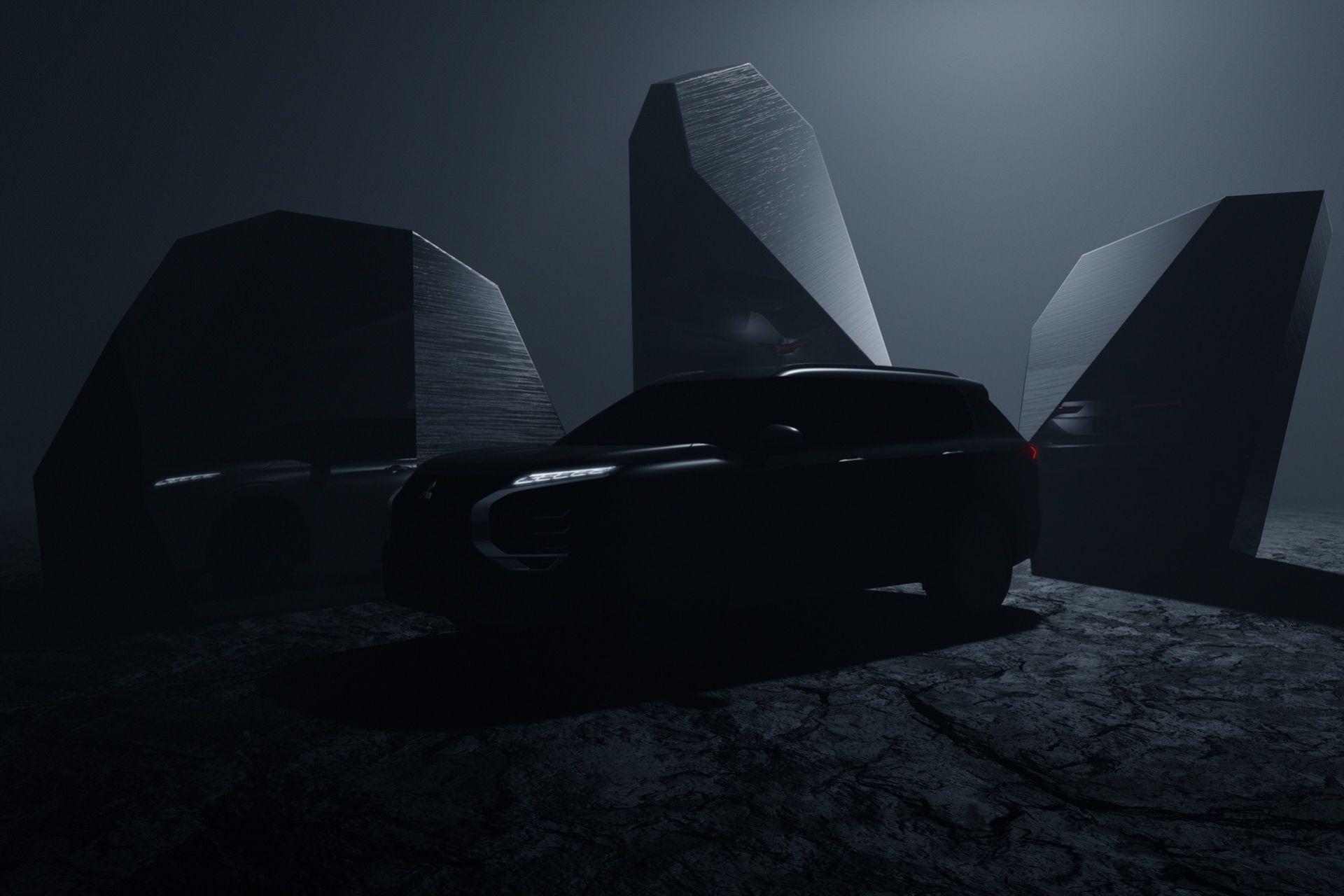 Mitsubishi smygvisar nya Outlander