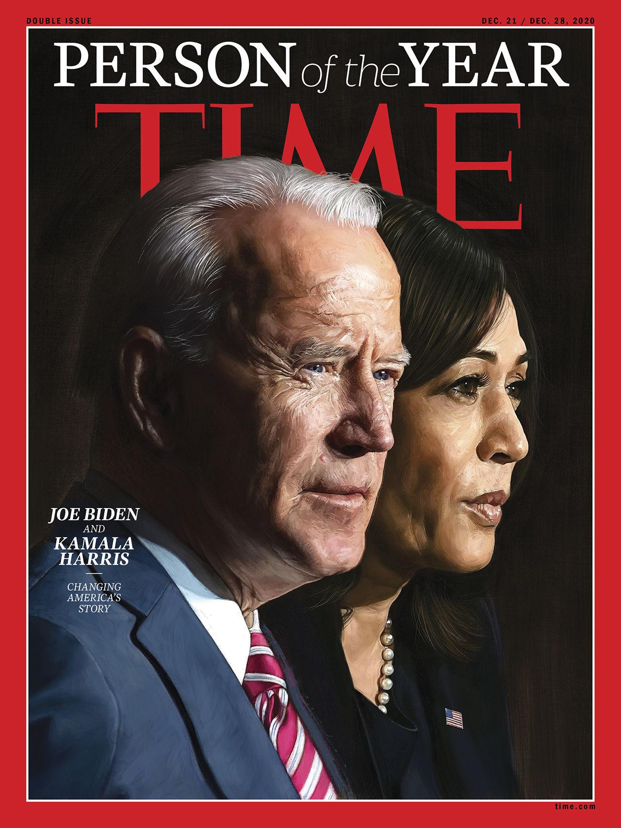 Joe Biden och Kamala Harris är Årets personer enligt TIME