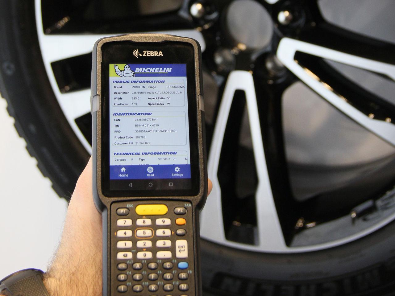 RFID-chip blir standard i Michelins personbilsdäck