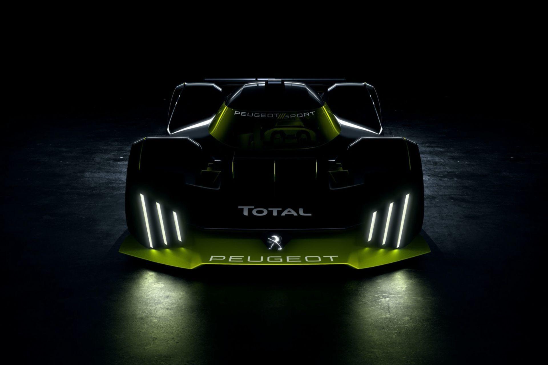 Det här är drivlinan i Peugeots nya Le Mans-racer