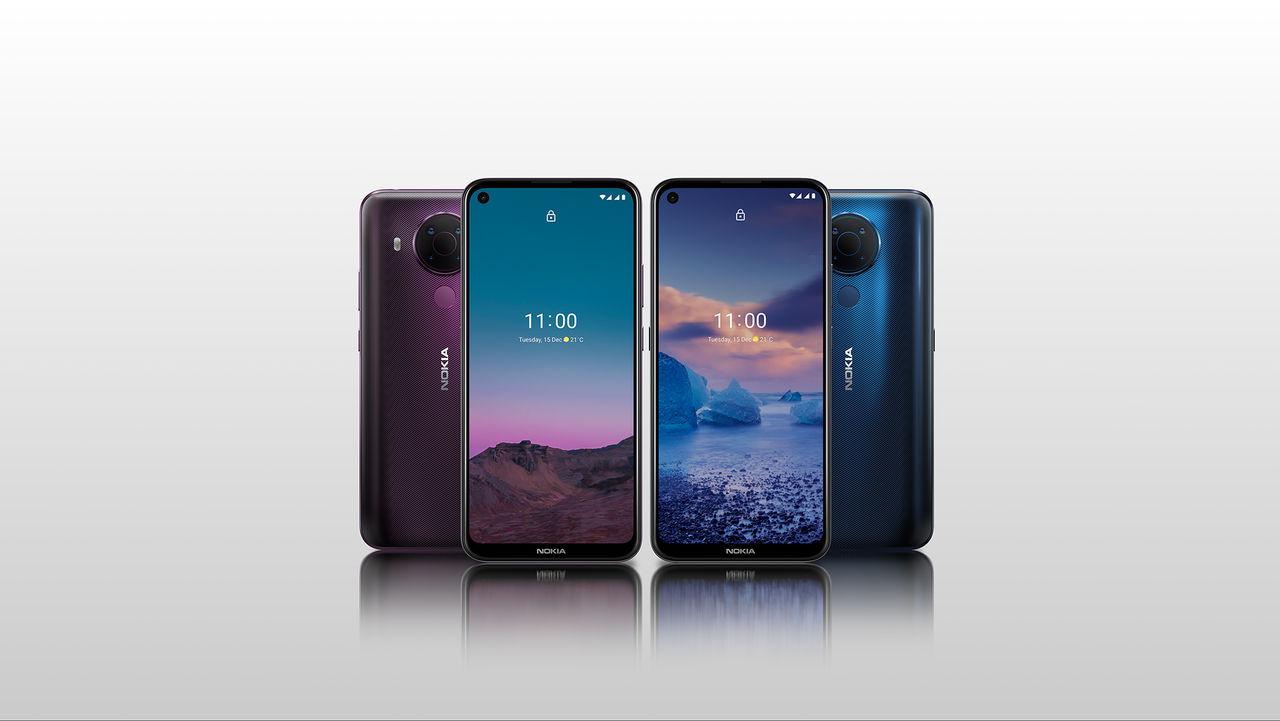 HMD Global presenterar Nokia 5.4
