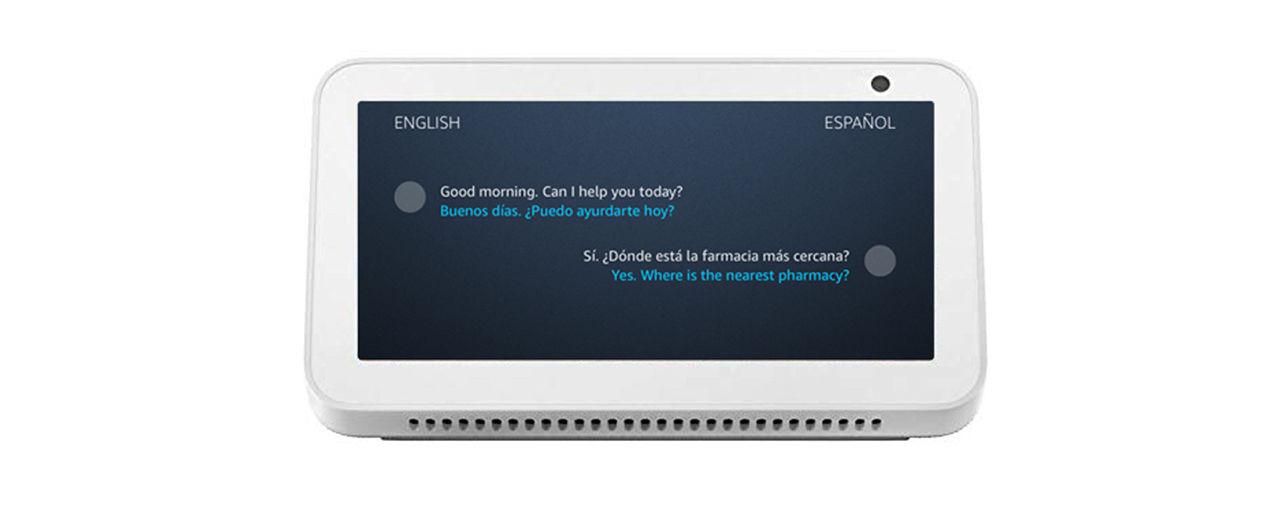 Alexa får stöd för översättning i realtid