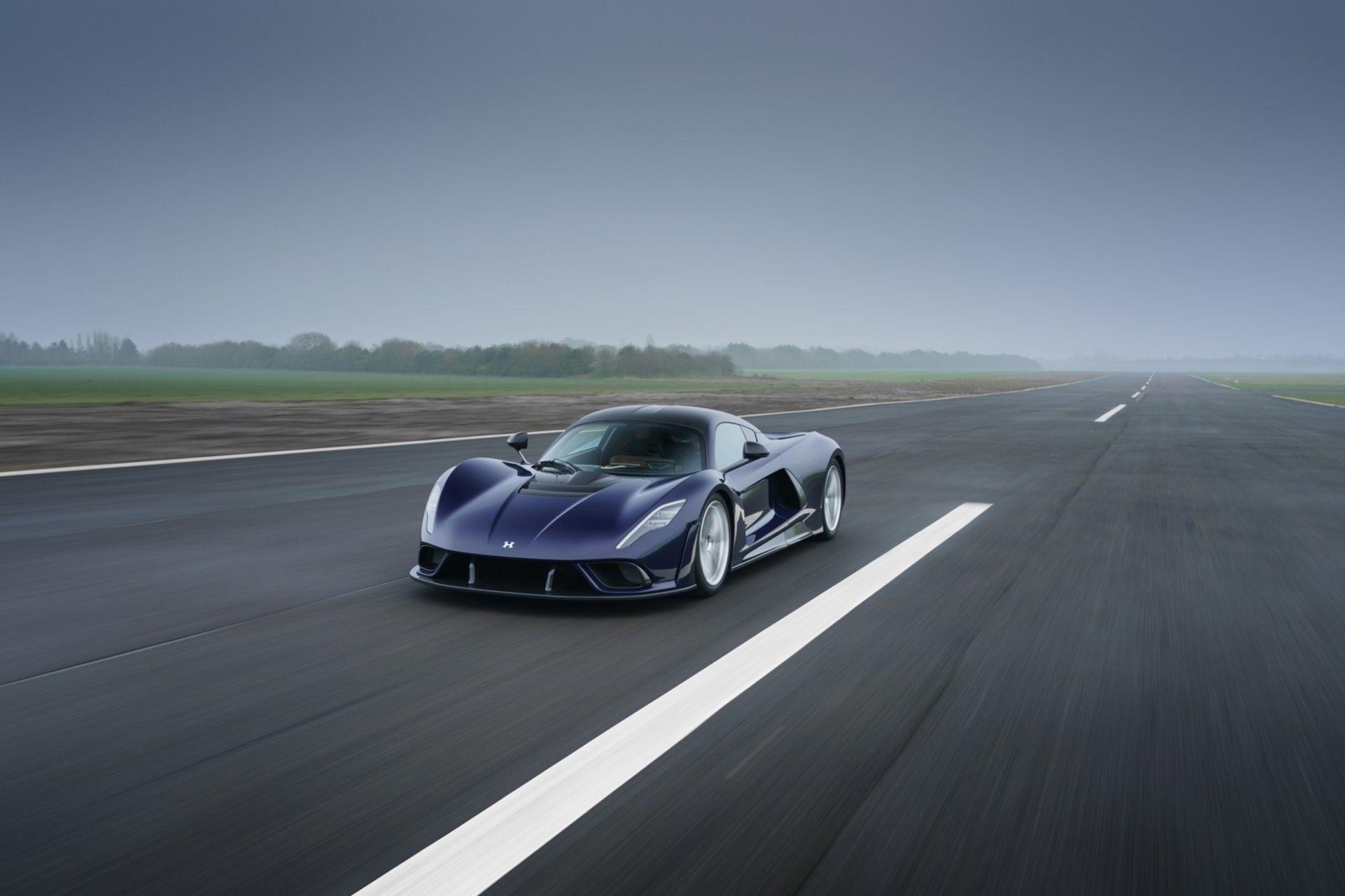 Nu är den här - Hennessey Venom F5