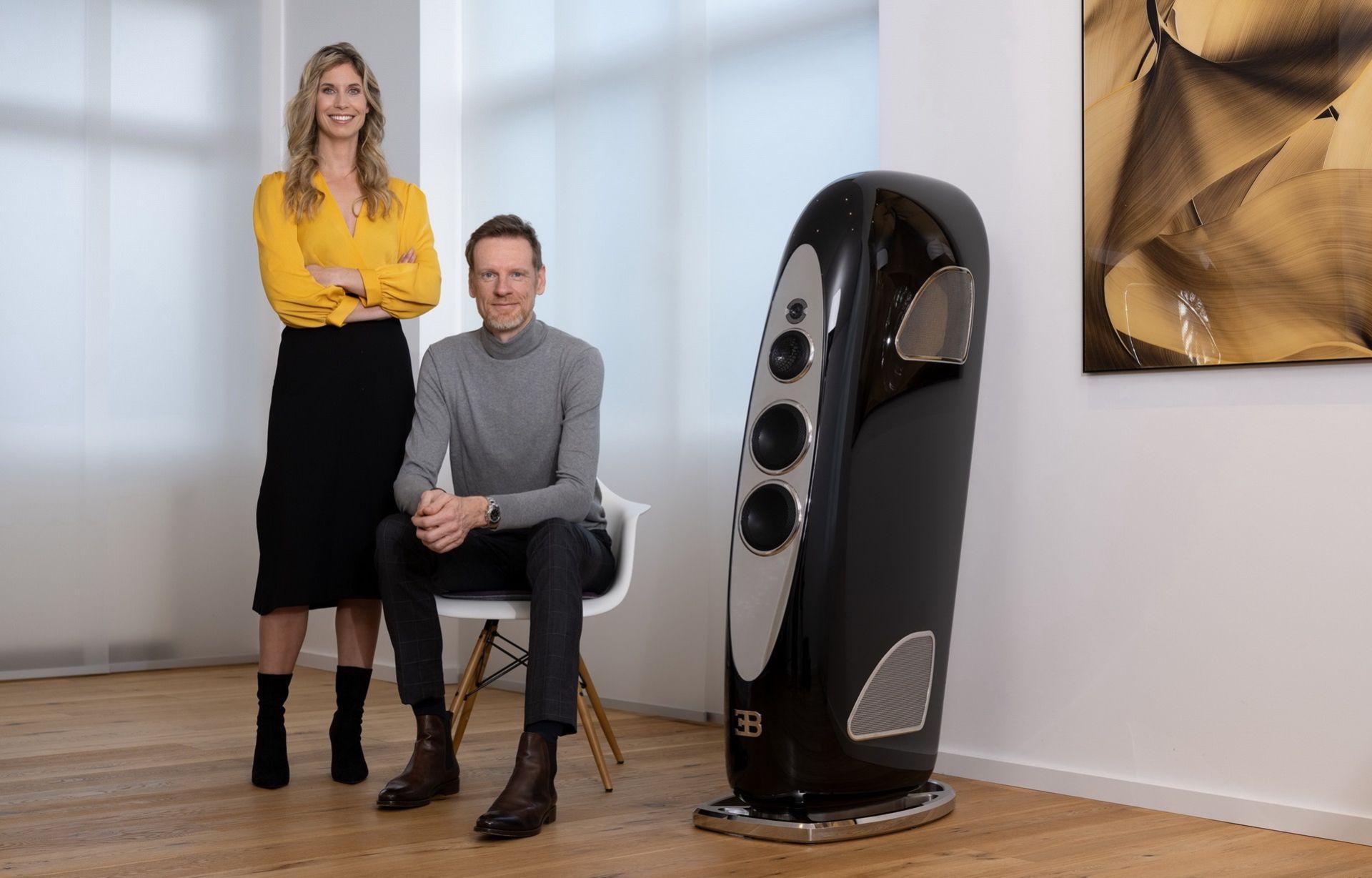 Bugatti och Tidal presenterar högtalare