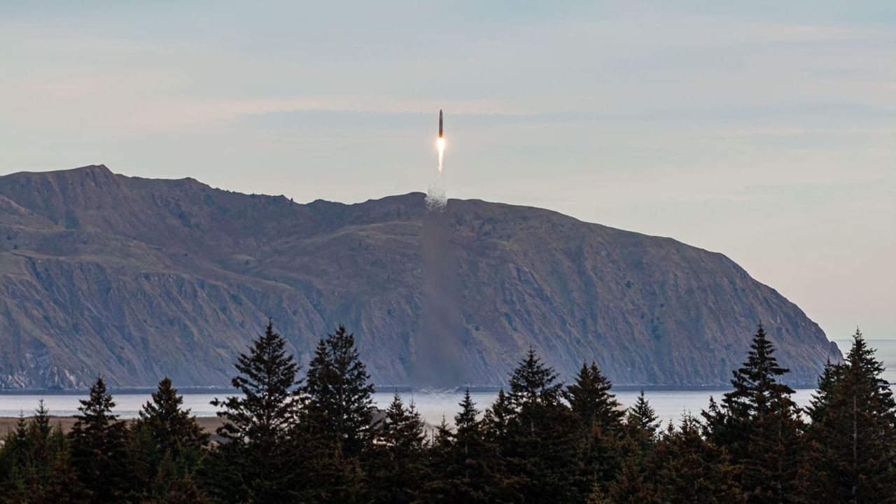 Astras raket tog sig till rymden för första gången