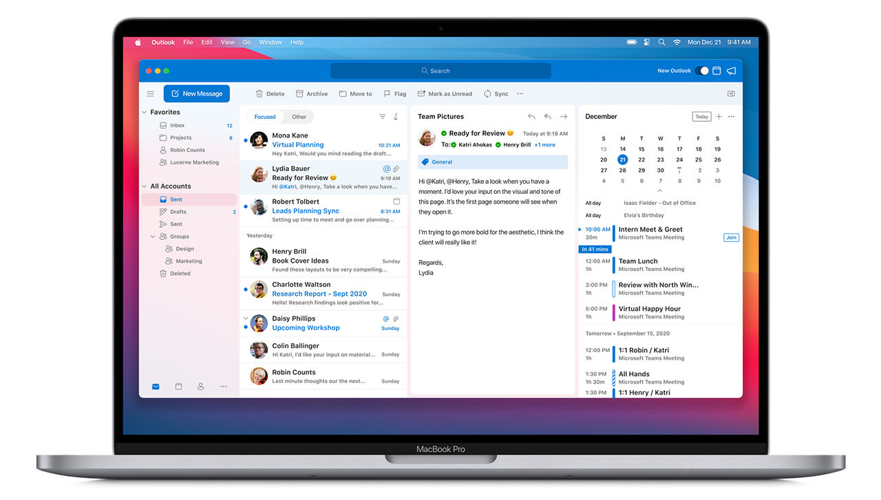 Microsoft släpper nya Office-appar till macOS