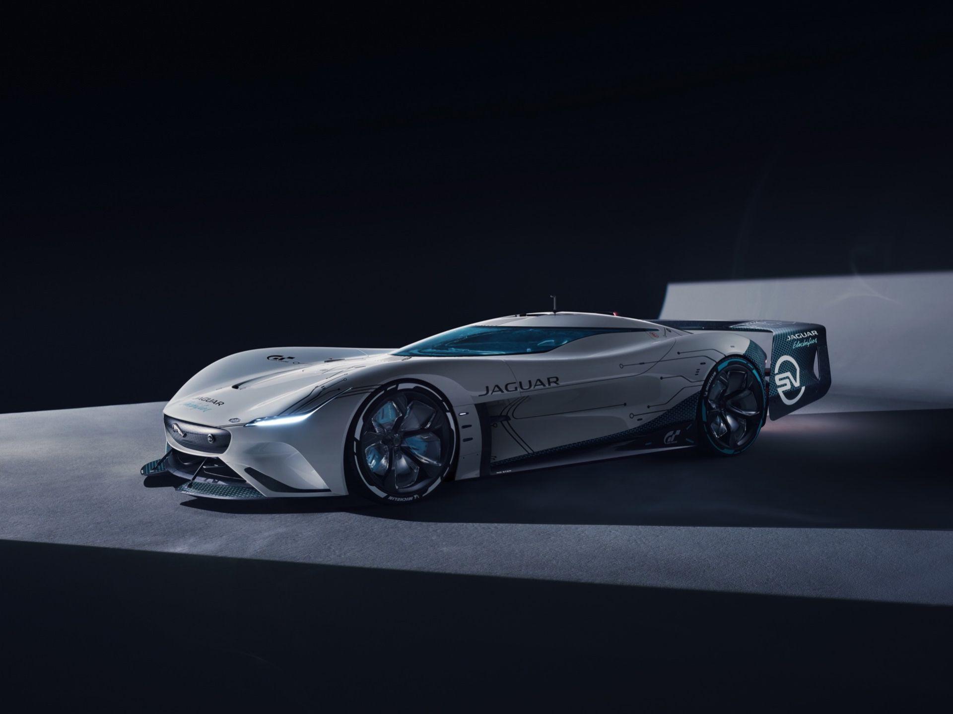 Det här är Jaguars nya Vision Gran Turismo-bil