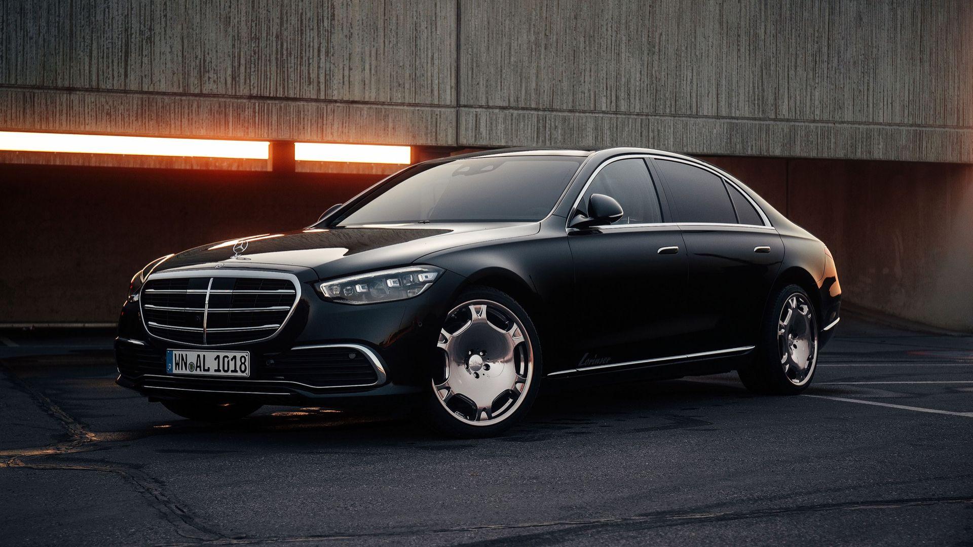 Lorinser klär upp nya Mercedes S-Klass med 21-tummare