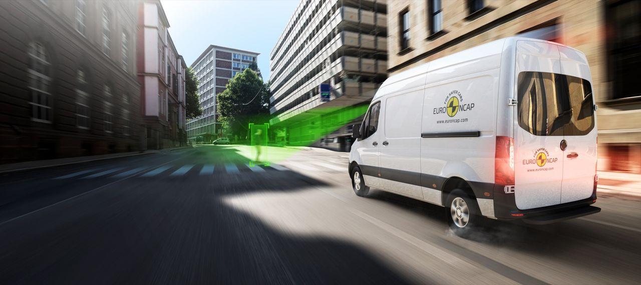 Trafikverket och Euro NCAP har krocktestat skåpbilar