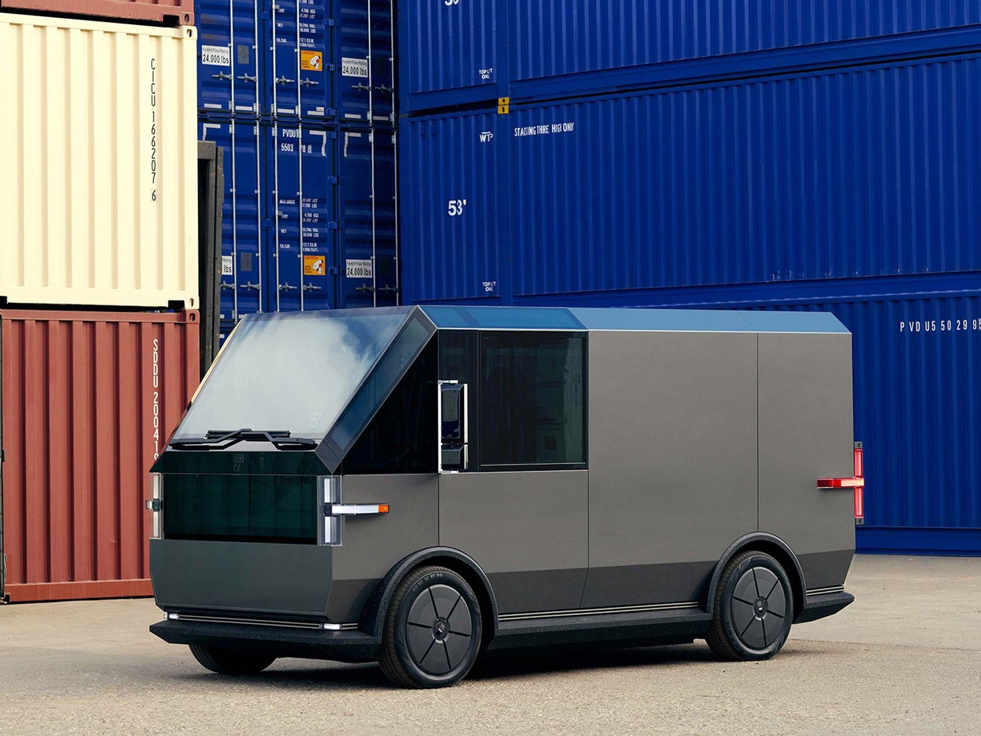Canoo presenterar eldrivet transportfordon