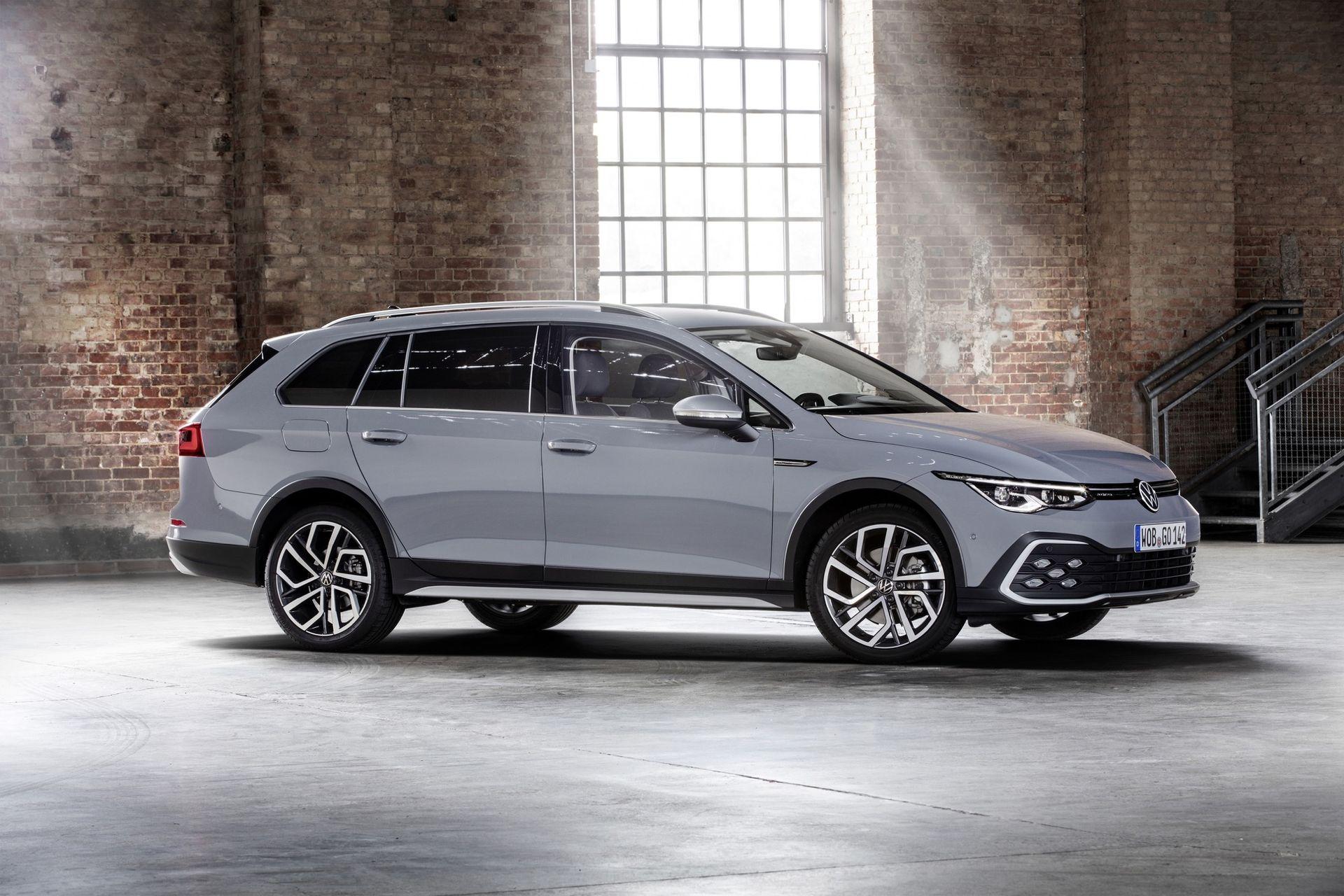 Volkswagen börjar sälja nya Golf Alltrack