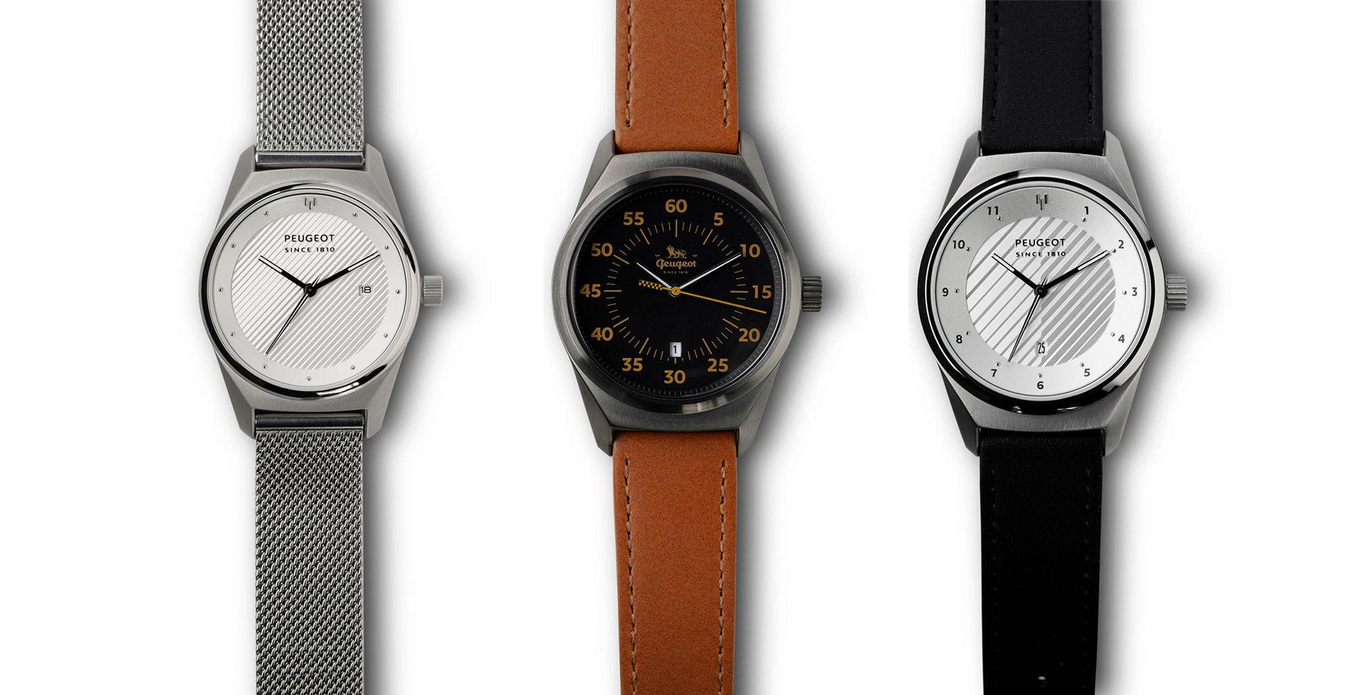 Peugeot släpper tre stycken nya klockor