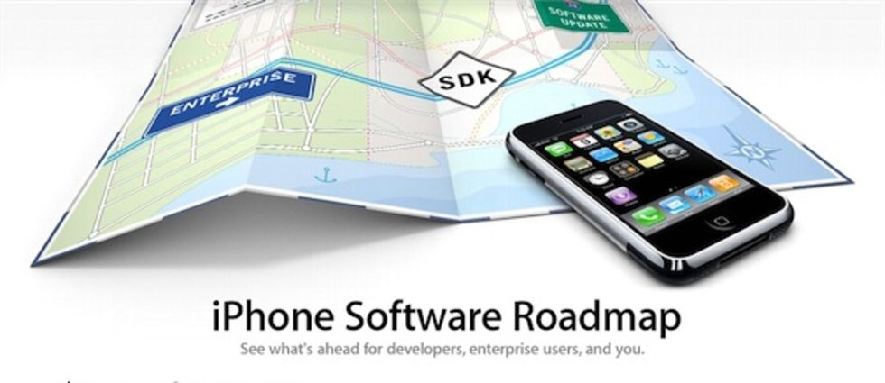 Apple släpper iPhone SDK