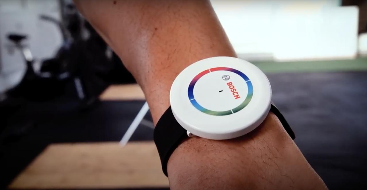 Bosch utvecklar sensor som kan känna av vad du tränar
