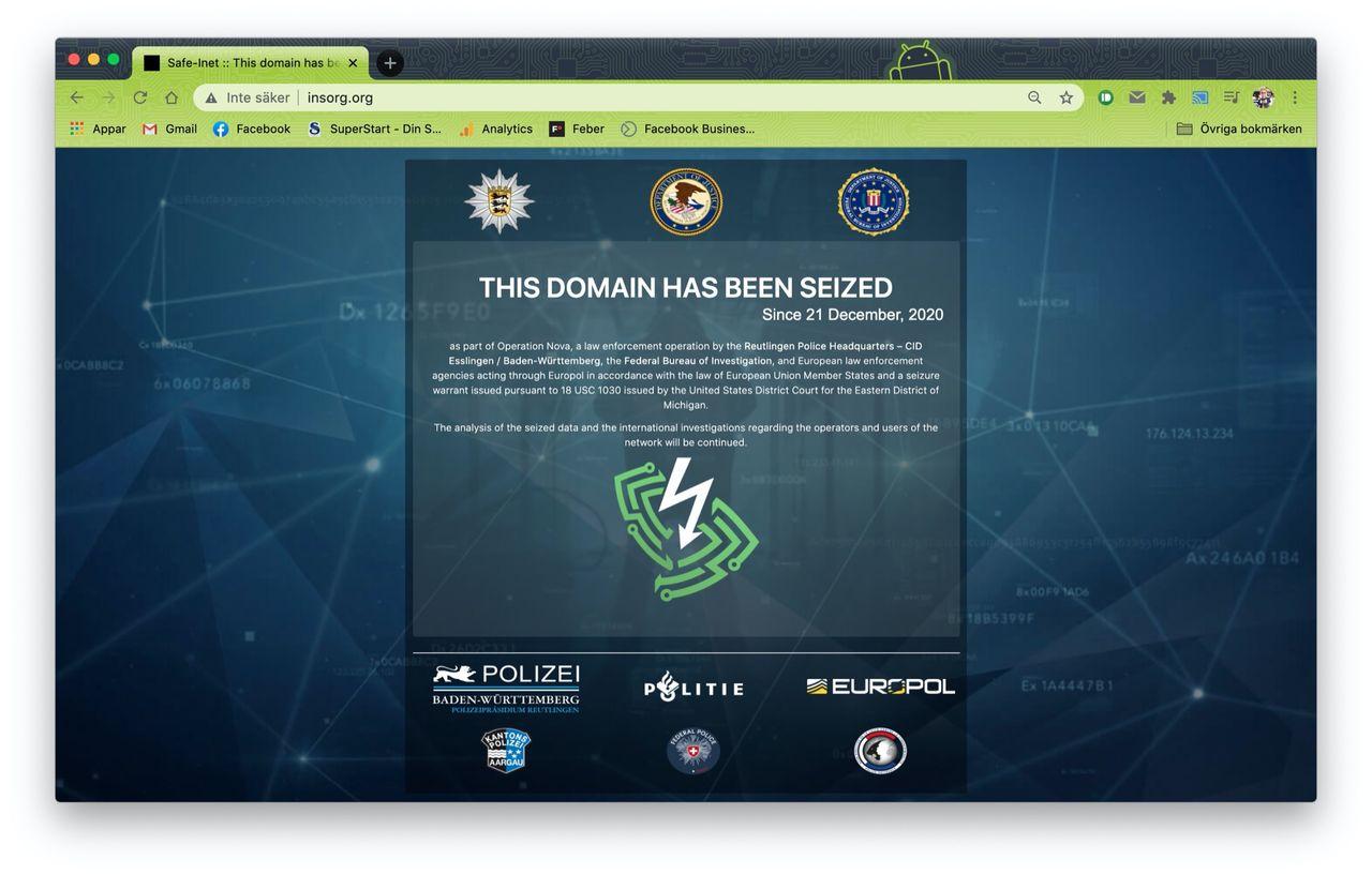 Polis stänger ner VPN-tjänster som användes av kriminella